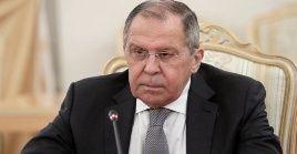 Más de una vez hemos sentido que en algunas áreas se están imponiendo sanciones que generan riesgos para la economía de Rusia, dijo  el canciller Serguei Lavrov.