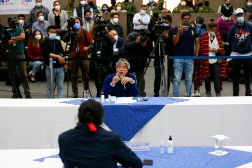 Lasso aceptó el viernes pasado la petición de Pérez de realizar un recuento parcial de los votos del 7 de febrero.
