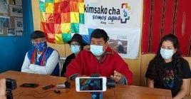 """Sucuzhañay señaló que la organización indígena se encuentra en """"resistencia"""" hasta que el Consejo Nacional Electoral cumpla el reconteo de votos varias regiones de Ecuador."""