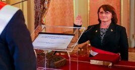 La exministra de Salud, Pilar Mazzetti es una de las exfuncionarios involucradas en el escándalo de las vacunas.