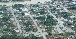 Al menos 10 ciudades del estado brasileño de Acre han sido afectadas por las inundaciones.