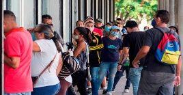 La capital venezolana registró 163 nuevos contagios, seguido por el vecino estado de Miranda con 100 infectados.