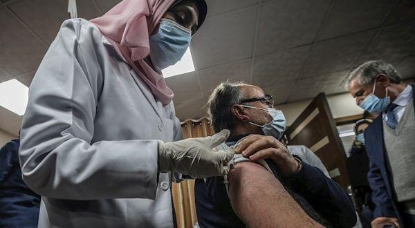 Comienza campaña de vacunación antiCovid-19 en la Franja de Gaza