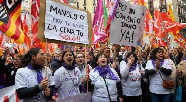 España no permitirá marchas multitudinarias por el 8 de marzo