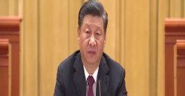Xi Jinping ofreció un discurso para marcar los logros del país en el alivio de la pobreza.