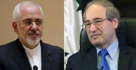 Ambos ministros, reiteraron la necesidad de que los países de Occidenteacaten las resoluciones del Consejo de Seguridad relativas a Siria.