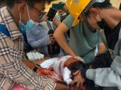 Los ciudadanos de Myanmar demandan la salida de los militares, que tomaron el poder el pasado 1 de febrero.