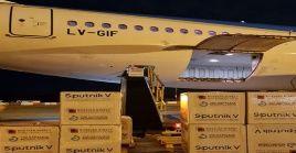 Ceriani ponderó el trabajo logístico de los trabajadores de Aerolíneas Argentinas para garantizar las vacunas a los ciudadanos.