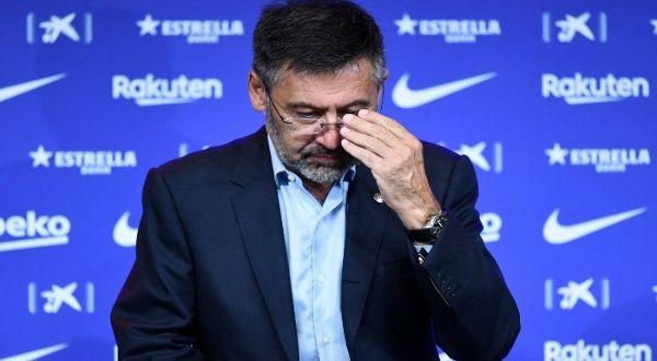 Jueza deja en libertad provisional a expresidente del Barcelona
