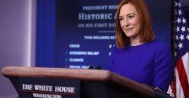 La portavoz de la Casa Blanca, Jen Psakirecordó que la semana pasada el presidente JoeBiden ordenó un bombardeo a milicias proiraníes en Siria.