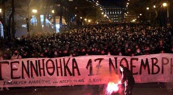 Continúan protestas en Grecia en apoyo a huelguista de hambre