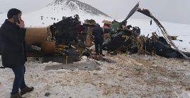 La fuente oficial indicó que el accidente ocurrió en la región de Bitlis, y pudo haber sido provocado por cambiosen las condiciones climáticas