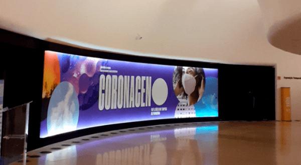Exposición en Brasil muestra el impacto de Covid-19 en el mundo
