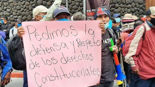 Los campesinos rechazan que sean incluidos en la Corte Constitucional magistrados que están asociados a actos de corrupción.