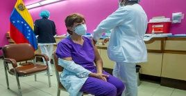Venezuela avanza en la vacunación contra el coronavirus.
