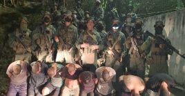 Militares venezolanos detienen a un grupo de mercenarios pertenecientes a la Operación Gedeón.