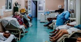 Paraguay  pasa por el peor momento de la pandemia con picos de contagios y muertes diarias por la Covid-19.