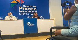La directora de Comunicación de la Cancillería, Yaira Jiménez, ofreció detalles sobre la operación contra Cuba.