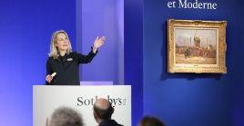 La casa de subastas indicó que la pintura había aparecido en catálogos, pero nunca expuesta públicamente.