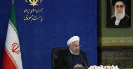 """Rohanidestacó que pese a lahostilidad,""""las condiciones de Irán son buenas (...) para frenar el virus letal"""","""