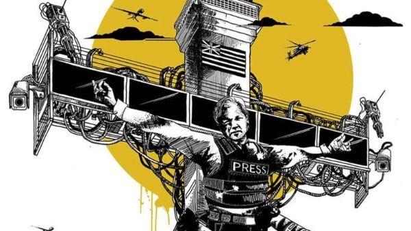 Sobre Assange pende el peligro de una extradición a Estados Unidos donde lo espera un juicio con cargos penados con la muerte.