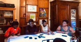 Durante la conferencia de prensa se recordó que las mujeres de Haití han tomado parte activa en las luchas de ese pueblo.