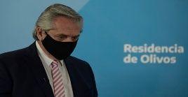 El presidente argentino llamó a la ciudadanía a mantener los cuidados y recomendaciones para evitar la propagación del coronavirus.