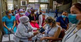 La vicepresidenta venezolana comentó que el país cuenta con 11.642 casos activos de coronavirus.
