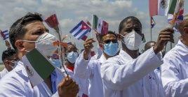 Gracias al trabajo de los médicos cubanos en México, se volvió operativo un moderno hospital de 300 camas.