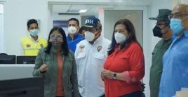 La vicepresidenta llamó a los venezolanos a cuidarse y a acudir al médico de manera temprana si presentan síntomas.