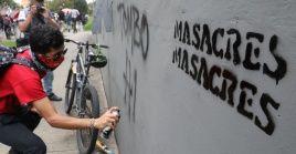 """El senador Feliciano Valencia dijo días antes había circulado una amenaza del grupo armado conocido como """"Los Cuyes""""."""