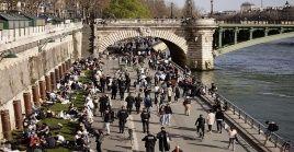 Según el Instituto Johns Hopkins Francia reporta un acumulado de 5 millones 128.140 positivos a la Covid-19.