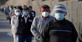 Con el nuevo récord de infectados , el número acumulado de casos confirmados en Perú por la Covid-19 asciende a 1.681.063.