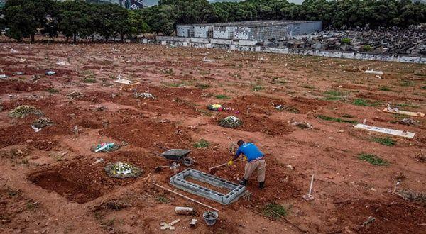 Brasil suma más de 2.900 muertes por coronavirus en 24 horas