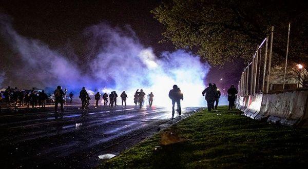 Reportan protestas en Minnesota antes de nuevo toque de queda