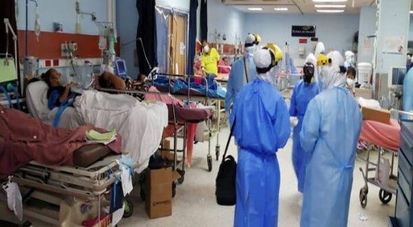 Al menos 5 hospitales guatemaltecos están saturados por la pandemia