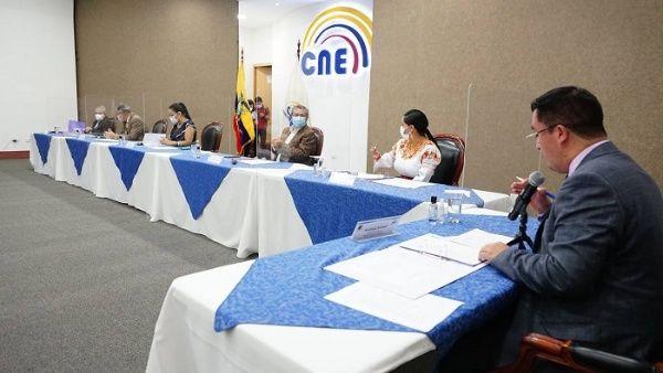 El CNE informó que a partir de este domingo las organizaciones políticas pueden presentar recursos contra los resultados proclamados.