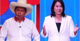 Pedro Castillo y Keiko Fujimori se medirán el domingo 6 de junio en la segunda vuelta electoral.