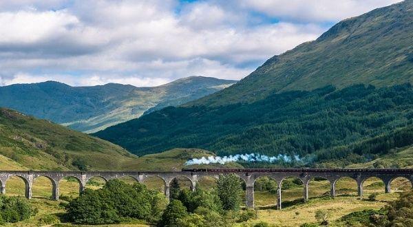 Reabren en Escocia viaje en tren de vapor de la saga Harry Potter
