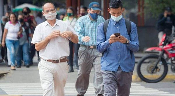 Venezuela sobrepasa los 1.300 casos diarios de coronavirus