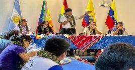 Además de movimientos populares de países como Argentina, Ecuador y Bolivia, Venezuela participa con representantes de su Cancillería.