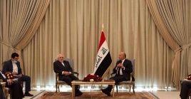 El ministro iraní y el mandatario iraquí destacaron la importancia de adoptar estrategias para implementar los acuerdos firmados.