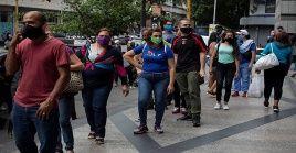 Venezuela inició este lunes a una nueva semana de flexibilización de la cuarentena por la Covid-19.