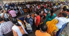 De los casi 18 millones de contagios en India, seis millones se registraron en lo que va del mes de abril.