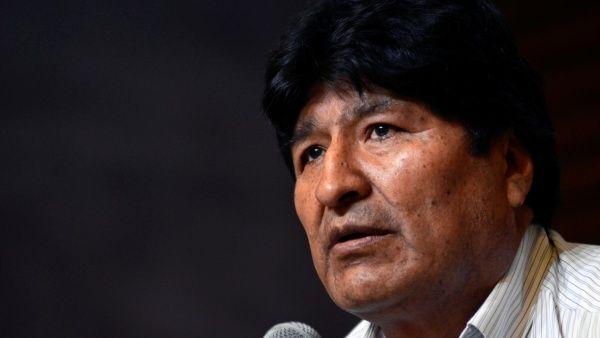 """El exjefe de Estado enfatizóque Bolivia """"goza de su democracia, recuperada con la fuerza, la voluntad y la conciencia del pueblo en octubre de 2020""""."""
