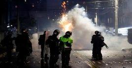 De acuerdo a la Plataforma, desde el 28 de abril hasta el 5 de mayo se han presentado 1.708 casos de violencia policial.