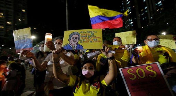 """ONU sigue con """"gran preocupación"""" la represión en Colombia"""
