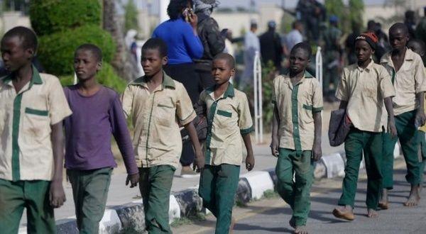 Liberan 27 estudiantes secuestrados en el noroeste de Nigeria