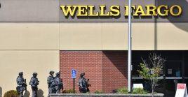 """Las autoridades declararon que """"hay un número no revelado de empleados del banco que están retenidos como rehenes""""."""