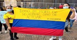 Las manifestaciones en Colombia llegan a su décima jornada y ya se confirman muertes a manos de la policía.